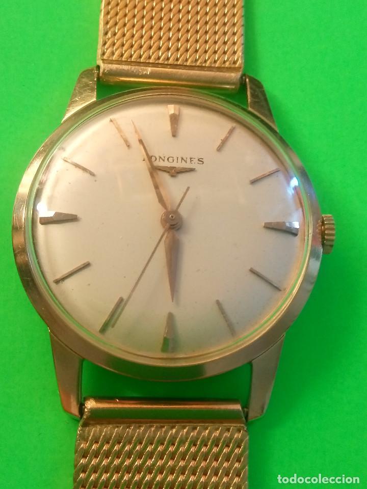 Relojes de pulsera: LONGINES DE ORO. CUERDA MANUAL. 1.964 (((( IMPECABLE )))) ORO DE 18 KT. 0,750 MILS. FOTOS Y DESCRIPC - Foto 11 - 130963928