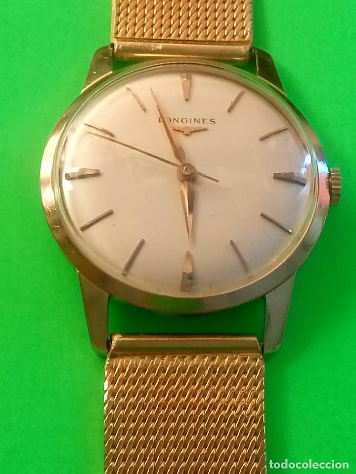 Relojes de pulsera: LONGINES DE ORO. CUERDA MANUAL. 1.964 (((( IMPECABLE )))) ORO DE 18 KT. 0,750 MILS. FOTOS Y DESCRIPC - Foto 12 - 130963928
