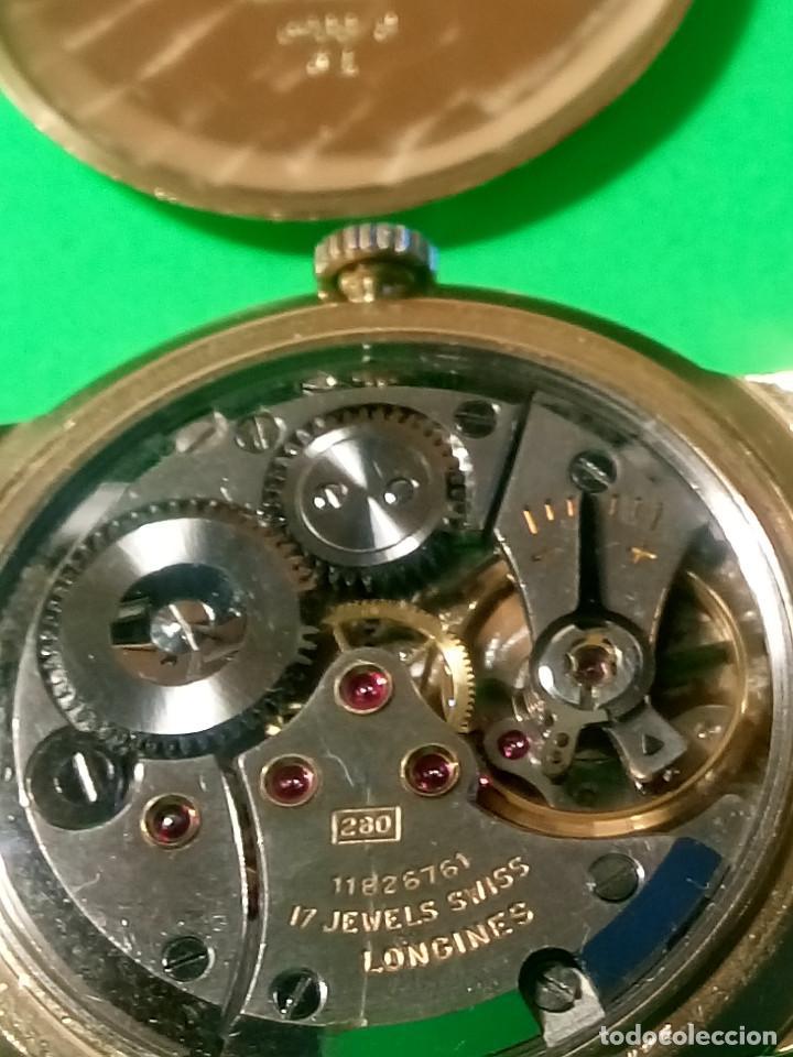 Relojes de pulsera: LONGINES DE ORO. CUERDA MANUAL. 1.964 (((( IMPECABLE )))) ORO DE 18 KT. 0,750 MILS. FOTOS Y DESCRIPC - Foto 15 - 130963928