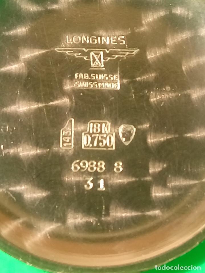 Relojes de pulsera: LONGINES DE ORO. CUERDA MANUAL. 1.964 (((( IMPECABLE )))) ORO DE 18 KT. 0,750 MILS. FOTOS Y DESCRIPC - Foto 16 - 130963928