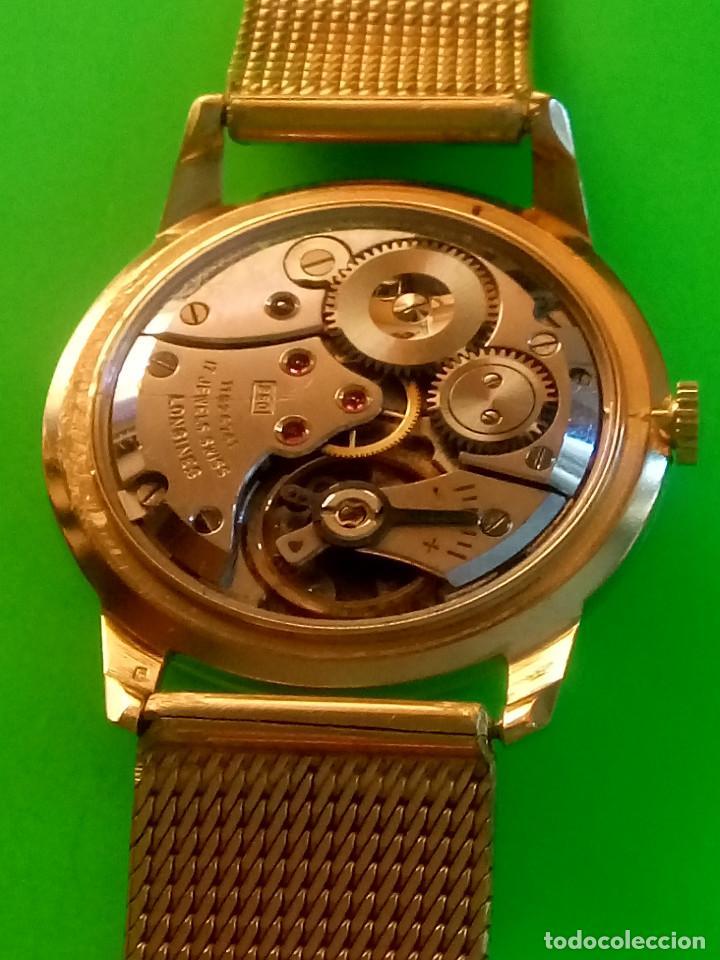 Relojes de pulsera: LONGINES DE ORO. CUERDA MANUAL. 1.964 (((( IMPECABLE )))) ORO DE 18 KT. 0,750 MILS. FOTOS Y DESCRIPC - Foto 19 - 130963928