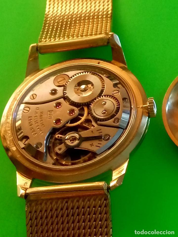 Relojes de pulsera: LONGINES DE ORO. CUERDA MANUAL. 1.964 (((( IMPECABLE )))) ORO DE 18 KT. 0,750 MILS. FOTOS Y DESCRIPC - Foto 21 - 130963928