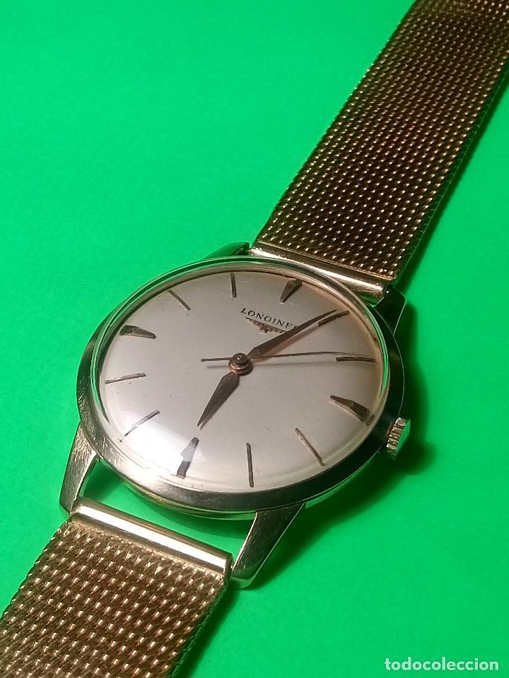 Relojes de pulsera: LONGINES DE ORO. CUERDA MANUAL. 1.964 (((( IMPECABLE )))) ORO DE 18 KT. 0,750 MILS. FOTOS Y DESCRIPC - Foto 23 - 130963928