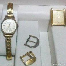 Relojes de pulsera: LOTE DE DOS RELOJES PARA REPARAR - MARCAS *KARDES Y JUSTINA* ..... LEER DESCRIPCION.. Lote 131010604