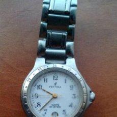 Relojes de pulsera: RELOJ DE SEÑORA - FESTINA MOD.3703 CON CORREA DE ACERO. Lote 131275931