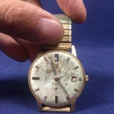 Relojes de pulsera: RELOJ PULSERA CARGA MANUAL FESTINA INCABLOC SWISS MADE EXTRAPLANO SIN BISEL FUNCIONA 35MM. Lote 131570418