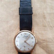 Relojes de pulsera: ANTIGUO RELOJ PULSERA SUIZO AMPER 17 RUBIS FUNCIONA. Lote 131740869