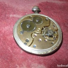 Relojes de pulsera: SABONETA RELOJ UNIVERSAL ANTIGUO PLATA SIGLO XIX DE PLATA 0`800 FUNCIONA FALTA CRISTAL Y AGUJAS. Lote 106658975