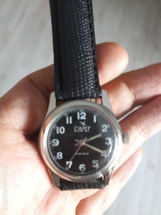 RELOJ SUIZO AÑOS 70 CLASICO VINTAGE COMO NUEVO. (Relojes - Pulsera Carga Manual)