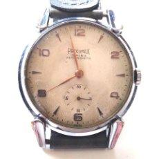 Relojes de pulsera: PRECIMAX 15 RUBIS SWISS ESTILO ART DECÓ, FUNCIONA. MED 38 MM. Lote 132257398