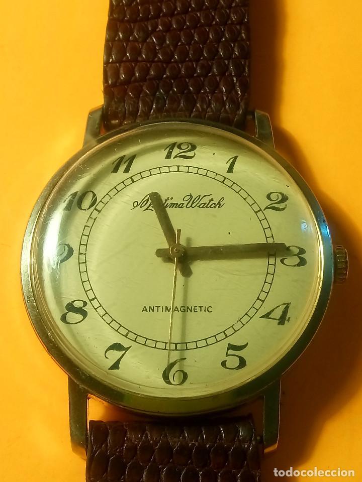 MORTIMA WATCH. MANUAL - FUNCIONANDO. 33.7 S/C. REVISADO. DESCRIPCION Y FOTOS. (Relojes - Pulsera Carga Manual)