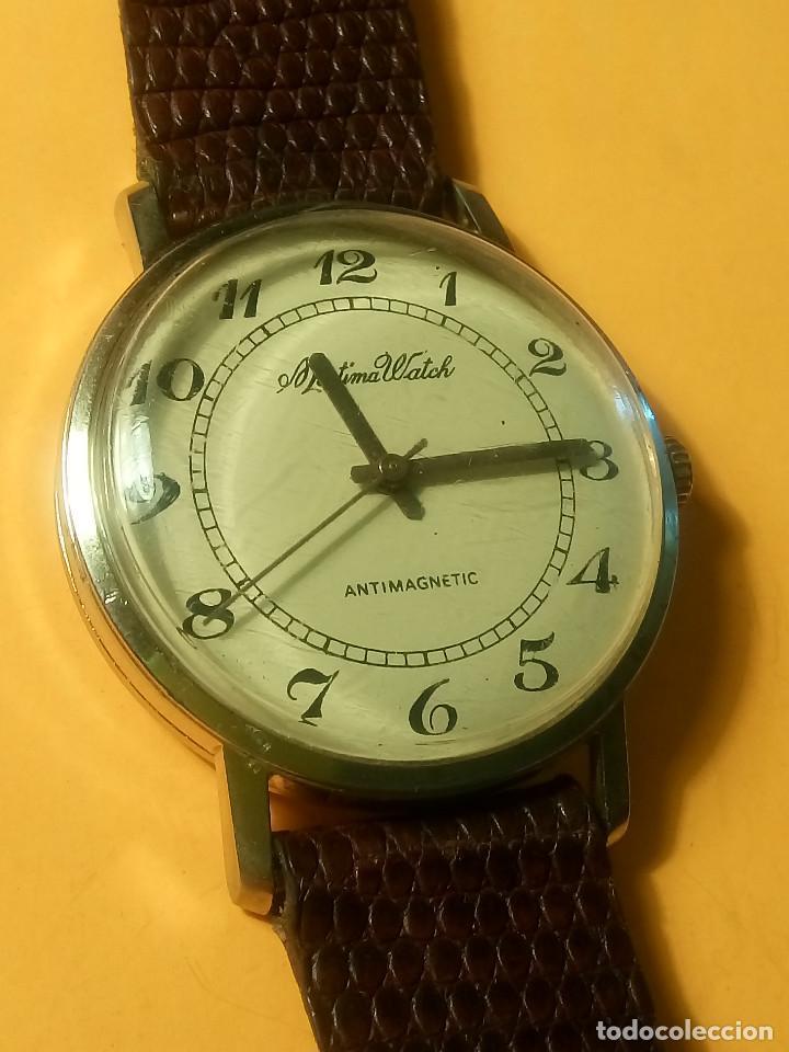 Relojes de pulsera: MORTIMA WATCH. MANUAL - FUNCIONANDO. 33.7 S/C. REVISADO. DESCRIPCION Y FOTOS. - Foto 2 - 132274346