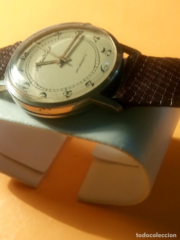 Relojes de pulsera: MORTIMA WATCH. MANUAL - FUNCIONANDO. 33.7 S/C. REVISADO. DESCRIPCION Y FOTOS. - Foto 4 - 132274346