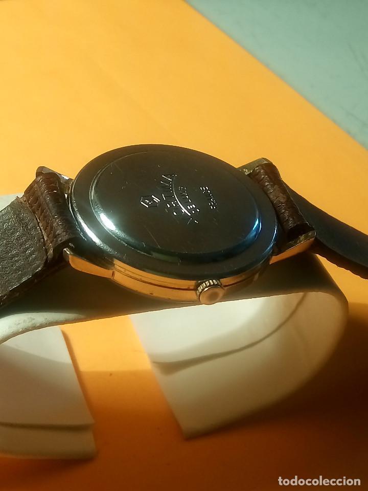Relojes de pulsera: MORTIMA WATCH. MANUAL - FUNCIONANDO. 33.7 S/C. REVISADO. DESCRIPCION Y FOTOS. - Foto 5 - 132274346