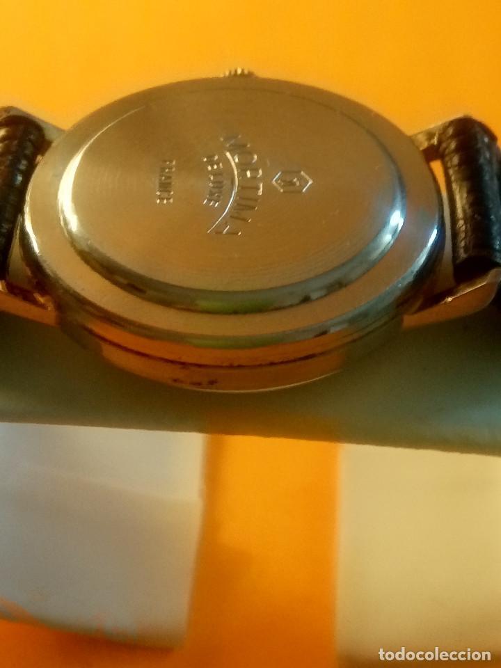 Relojes de pulsera: MORTIMA WATCH. MANUAL - FUNCIONANDO. 33.7 S/C. REVISADO. DESCRIPCION Y FOTOS. - Foto 6 - 132274346