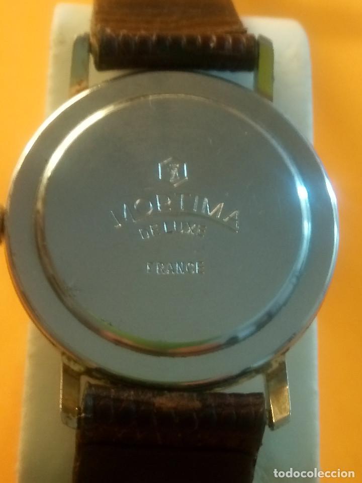 Relojes de pulsera: MORTIMA WATCH. MANUAL - FUNCIONANDO. 33.7 S/C. REVISADO. DESCRIPCION Y FOTOS. - Foto 7 - 132274346