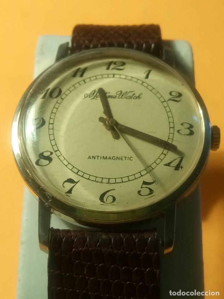 Relojes de pulsera: MORTIMA WATCH. MANUAL - FUNCIONANDO. 33.7 S/C. REVISADO. DESCRIPCION Y FOTOS. - Foto 8 - 132274346