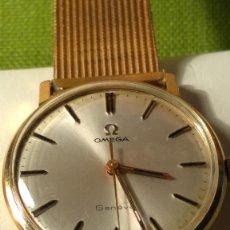 Relojes de pulsera: OMEGA DE ORO. 18 KL. 0.750 MLM. (( PERFECTO )) CALIB 601 - 1.967. REVISADO Y FUNCIONANDO BIEN. FOTOS. Lote 166090989