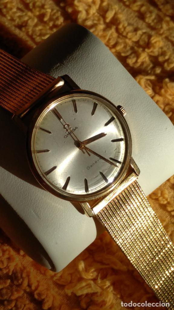 Relojes de pulsera: OMEGA DE ORO. 18 KL. 0.750 MLM.(( PERFECTO )) CALIB 601 - 1.967. REVISADO Y FUNCIONANDO. DESCRIPCION - Foto 2 - 182941420