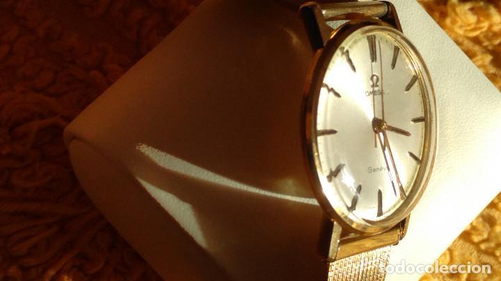 Relojes de pulsera: OMEGA DE ORO. 18 KL. 0.750 MLM.(( PERFECTO )) CALIB 601 - 1.967. REVISADO Y FUNCIONANDO. DESCRIPCION - Foto 4 - 182941420