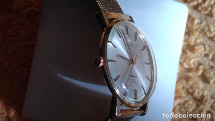 Relojes de pulsera: OMEGA DE ORO. 18 KL. 0.750 MLM.(( PERFECTO )) CALIB 601 - 1.967. REVISADO Y FUNCIONANDO. DESCRIPCION - Foto 5 - 182941420