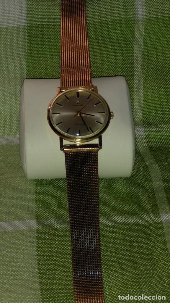 Relojes de pulsera: OMEGA DE ORO. 18 KL. 0.750 MLM.(( PERFECTO )) CALIB 601 - 1.967. REVISADO Y FUNCIONANDO. DESCRIPCION - Foto 6 - 182941420