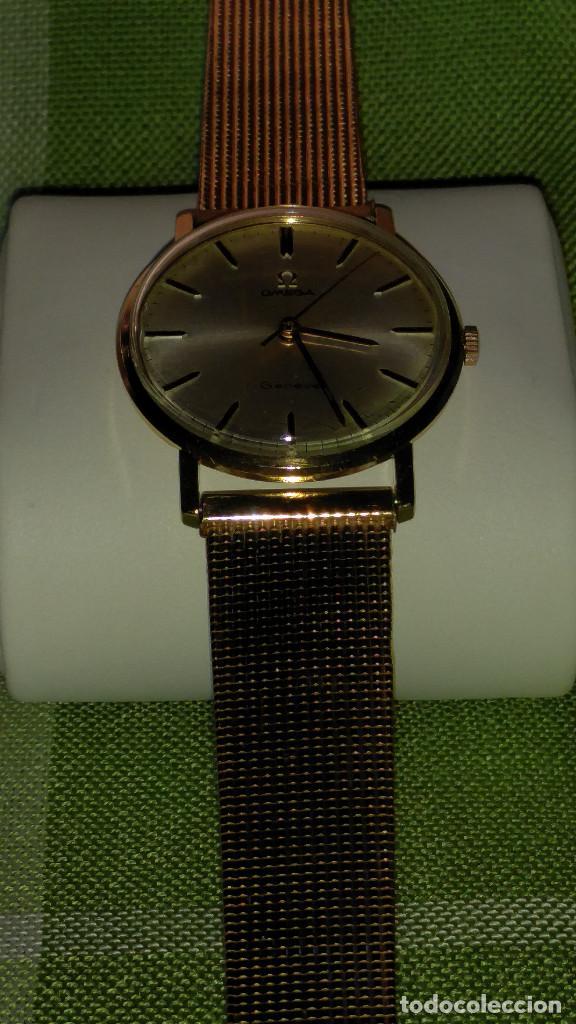 Relojes de pulsera: OMEGA DE ORO. 18 KL. 0.750 MLM.(( PERFECTO )) CALIB 601 - 1.967. REVISADO Y FUNCIONANDO. DESCRIPCION - Foto 7 - 182941420