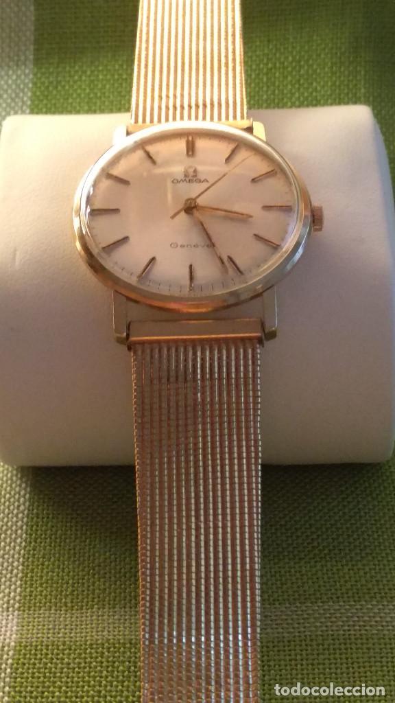 Relojes de pulsera: OMEGA DE ORO. 18 KL. 0.750 MLM.(( PERFECTO )) CALIB 601 - 1.967. REVISADO Y FUNCIONANDO. DESCRIPCION - Foto 8 - 182941420