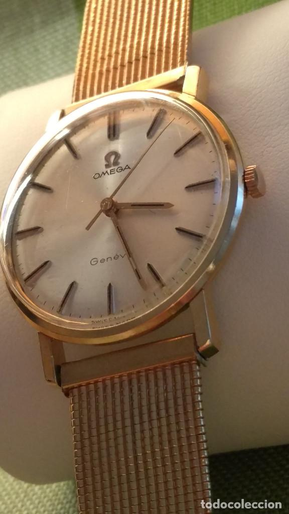 Relojes de pulsera: OMEGA DE ORO. 18 KL. 0.750 MLM.(( PERFECTO )) CALIB 601 - 1.967. REVISADO Y FUNCIONANDO. DESCRIPCION - Foto 9 - 182941420