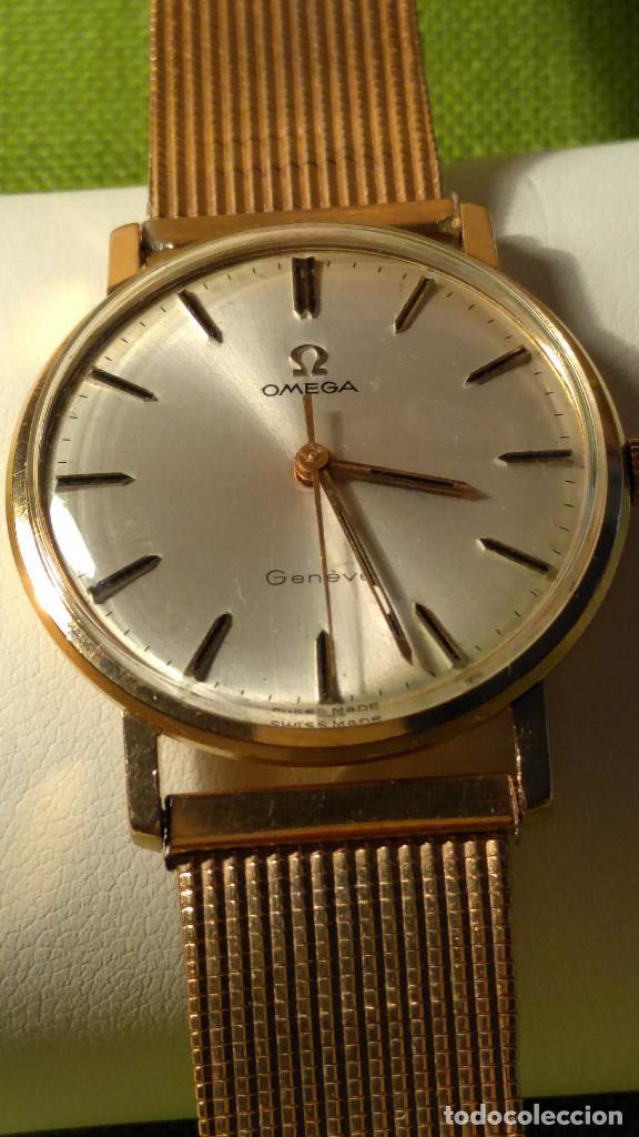 Relojes de pulsera: OMEGA DE ORO. 18 KL. 0.750 MLM.(( PERFECTO )) CALIB 601 - 1.967. REVISADO Y FUNCIONANDO. DESCRIPCION - Foto 11 - 182941420