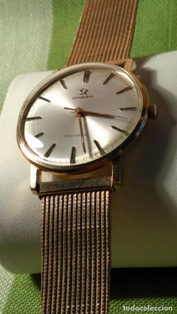 Relojes de pulsera: OMEGA DE ORO. 18 KL. 0.750 MLM.(( PERFECTO )) CALIB 601 - 1.967. REVISADO Y FUNCIONANDO. DESCRIPCION - Foto 12 - 182941420