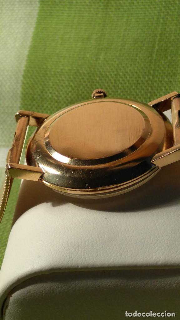 Relojes de pulsera: OMEGA DE ORO. 18 KL. 0.750 MLM.(( PERFECTO )) CALIB 601 - 1.967. REVISADO Y FUNCIONANDO. DESCRIPCION - Foto 13 - 182941420
