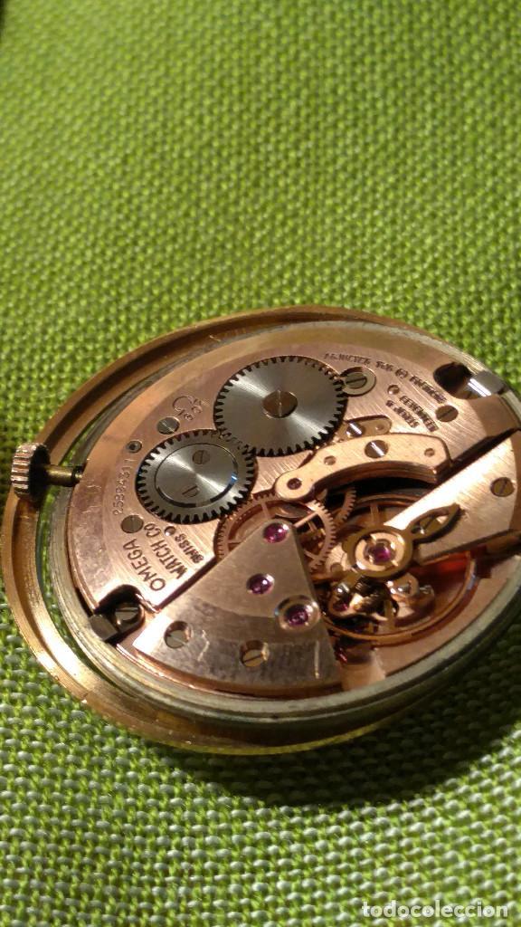 Relojes de pulsera: OMEGA DE ORO. 18 KL. 0.750 MLM.(( PERFECTO )) CALIB 601 - 1.967. REVISADO Y FUNCIONANDO. DESCRIPCION - Foto 14 - 182941420