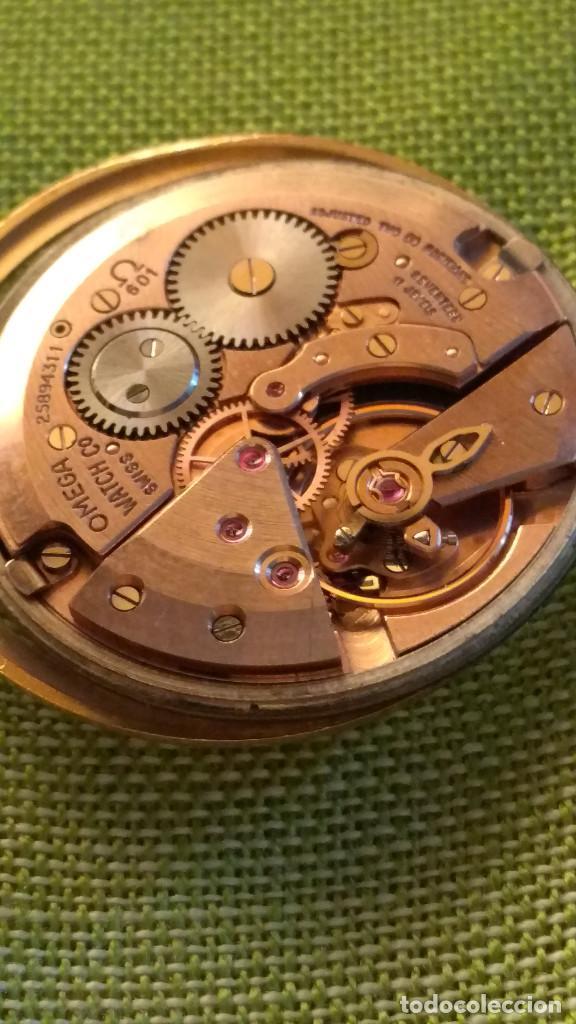 Relojes de pulsera: OMEGA DE ORO. 18 KL. 0.750 MLM.(( PERFECTO )) CALIB 601 - 1.967. REVISADO Y FUNCIONANDO. DESCRIPCION - Foto 15 - 182941420