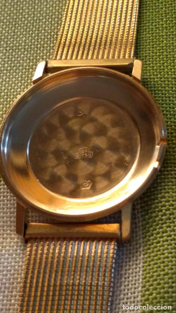 Relojes de pulsera: OMEGA DE ORO. 18 KL. 0.750 MLM.(( PERFECTO )) CALIB 601 - 1.967. REVISADO Y FUNCIONANDO. DESCRIPCION - Foto 16 - 182941420