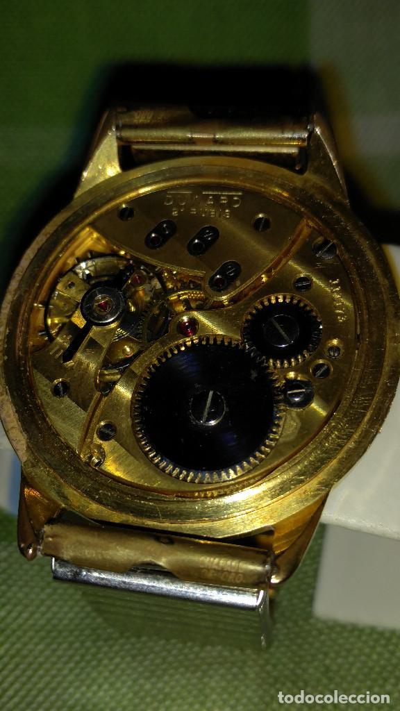Relojes de pulsera: DUWARD - MANUAL. AÑOS 50. FUNCIONANDO BIEN. 37.5 S/C. 21 R. P.ORO 10 M. DESCRIP. Y FOTOS. - Foto 17 - 132622398