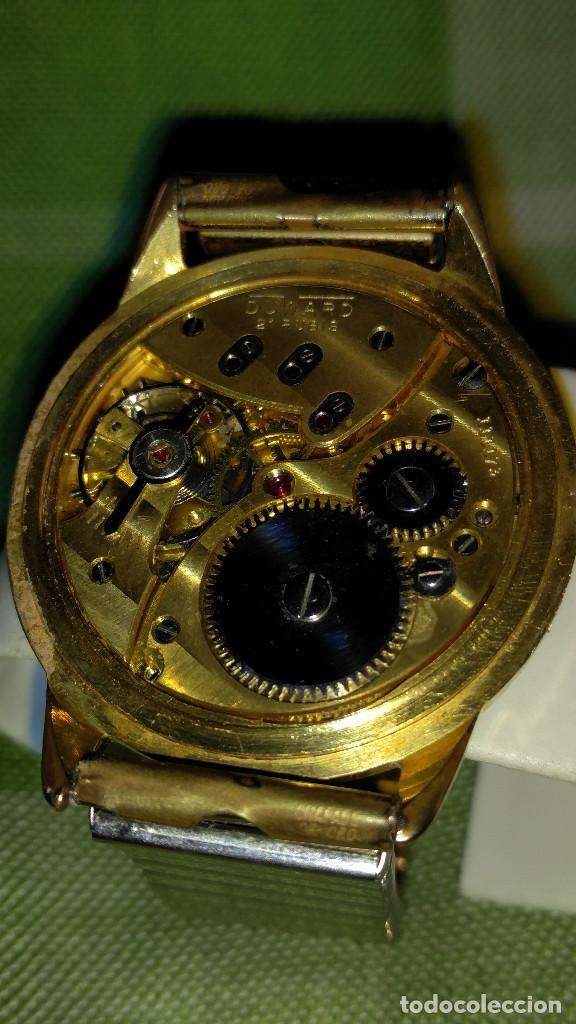 Relojes de pulsera: DUWARD - MANUAL. AÑOS 50. FUNCIONANDO BIEN. 37.5 S/C. 21 R. P.ORO 10 M. DESCRIP. Y FOTOS. - Foto 18 - 132622398