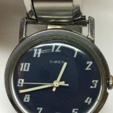 Relojes de pulsera: RELOJ TIMEX ANTIGUO DE CUERDA,PRECIOSO COLOR AÑO CIRCLA 50. Lote 132716594