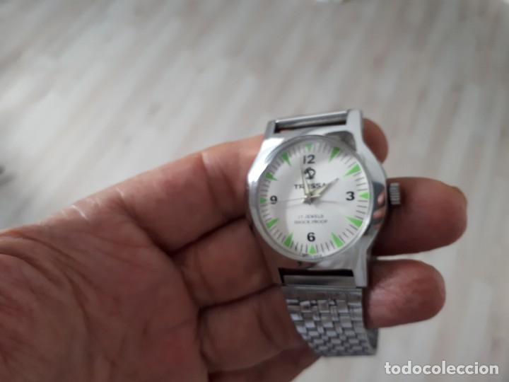 Relojes de pulsera: VINTAGE RELOJ SUIZO CUERDA MANUAL NUEVO. - Foto 3 - 132906874