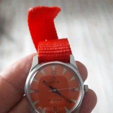 Relojes de pulsera: RELOJ VINTAGE LANCO SUIZO.. Lote 132919534