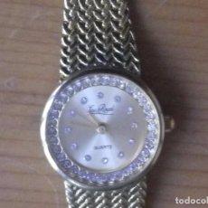 Relojes de pulsera: LOUIS ROYAL WATCH. PRECIOSO RELOJ DE SEÑORA. QUARTZ. FUNCIONA PERFECTEMENTE . Lote 132979566