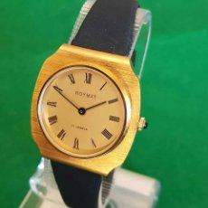 Relojes de pulsera: RELOJ ROYMAT DE CUERDA , SWISS MADE, VINTAGE. NOS (NEW OLD STOCK). Lote 133144910
