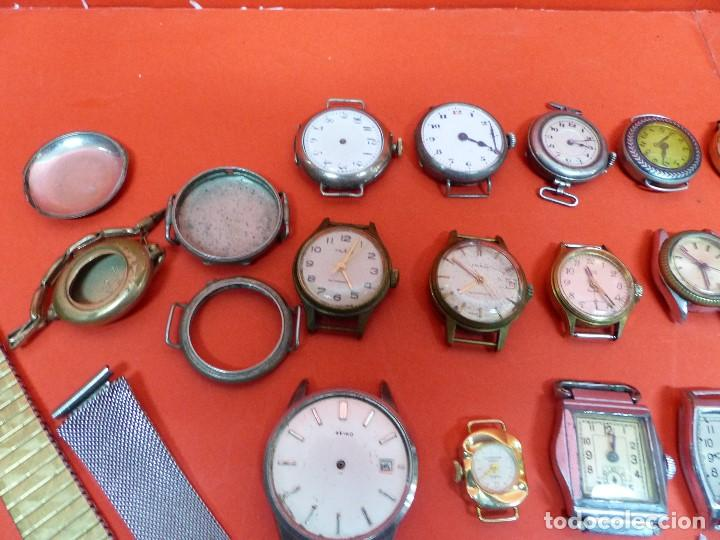 Relojes de pulsera: ,,,LOTE DE RELOJES DE PULSERA,,,CUERDA MANUAL,,,VER DESCRIPCION Y FOTOGRAFIAS,,, - Foto 2 - 133200006