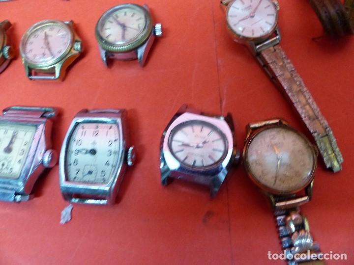 Relojes de pulsera: ,,,LOTE DE RELOJES DE PULSERA,,,CUERDA MANUAL,,,VER DESCRIPCION Y FOTOGRAFIAS,,, - Foto 4 - 133200006
