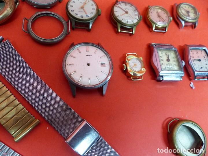 Relojes de pulsera: ,,,LOTE DE RELOJES DE PULSERA,,,CUERDA MANUAL,,,VER DESCRIPCION Y FOTOGRAFIAS,,, - Foto 5 - 133200006