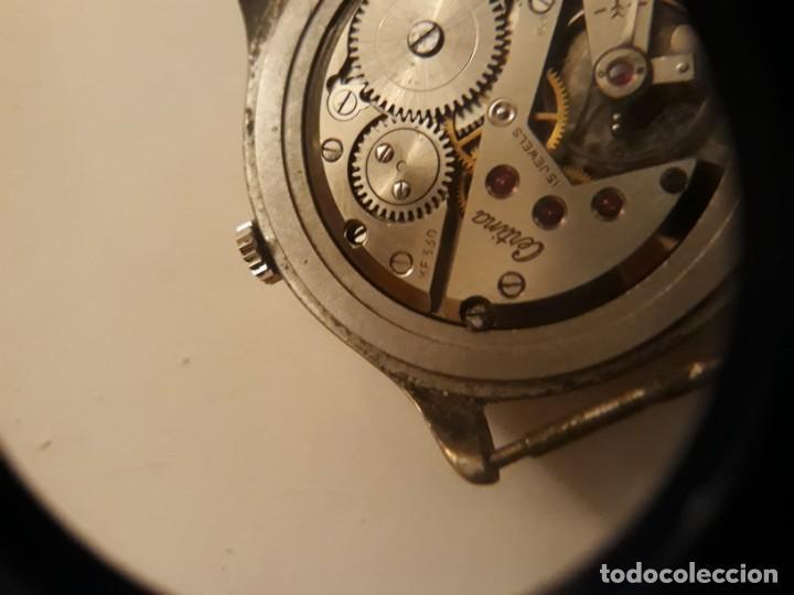Relojes de pulsera: reloj de pulsera caballero carga manual, certina militar kf 330. - Foto 6 - 135359141