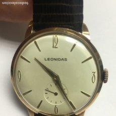 Relojes de pulsera: RELOJ LEONIDAS SI-IMIER CARGA MANUAL MODELO ANTERIOR DE TAG HEUER COMO NUEVO. Lote 133238003