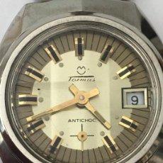Relojes de pulsera: RELOJ TORMAS EN ACERO COMPLETO CON COMO PARA ESTRENAR NO LA DEJES ESCAPAR. Lote 133231698