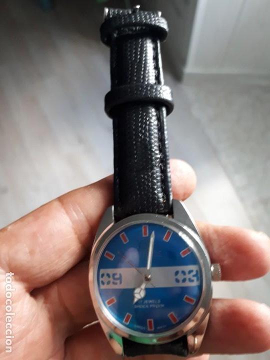 Relojes de pulsera: RELOJ SUIZO DEPORTIVO VINTAGE HELBROS NUEVO. - Foto 2 - 133282802