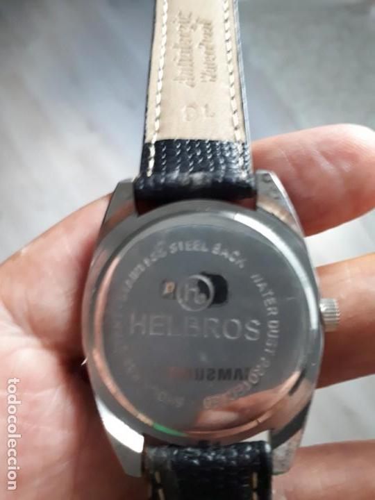 Relojes de pulsera: RELOJ SUIZO DEPORTIVO VINTAGE HELBROS NUEVO. - Foto 4 - 133282802